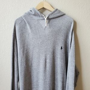 POLO BY RL Gray hooded sweatshirt 3XLT